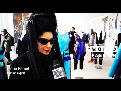 Rad Hourani Unisex Couture Collection Presentation Paris