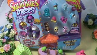 Squinkies do drops 12 pack ultra rare sea elephant inside open together home video