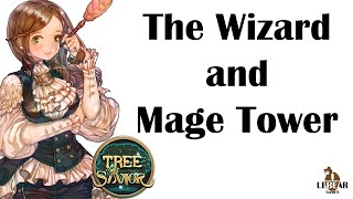 [ TREE OF SAVIOR ] The Wizard and Mage Tower (+5 Stamina Increase Potion)
