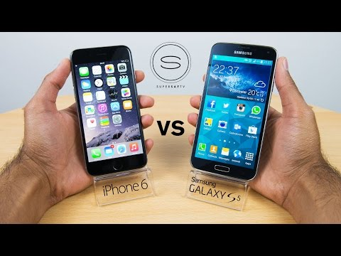 iPhone 6 vs Samsung Galaxy S5 - Hands-on