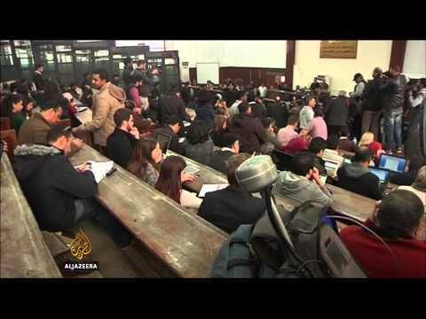 Al Jazeera journalists return to Cairo court