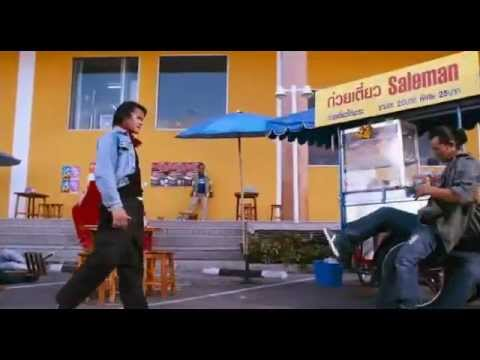 Tony Jaa (The Bodyguard 2) action scene [FR] - YouTube