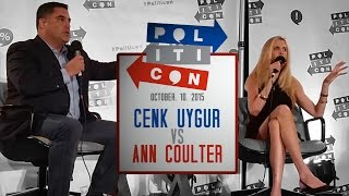 Ann Coulter VS Cenk Uygur (TYT) @ Politicon 2015 - FULL DEBATE