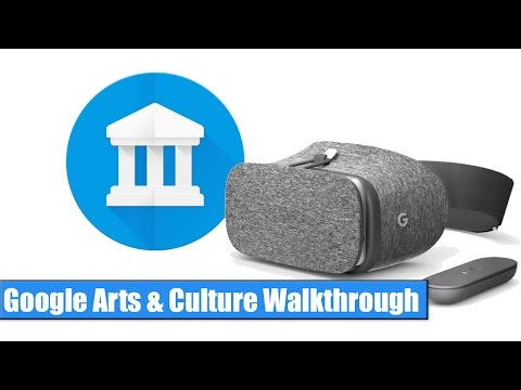Google Daydream VR: Arts & Culture Walkthrough / Hands-On
