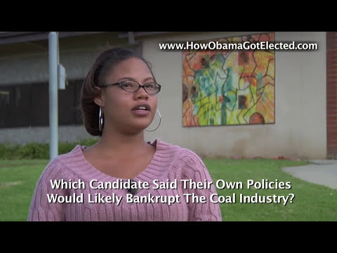 How Obama Got Elected... Interviews With Obama Voters
