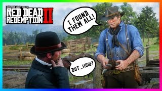 What Happens If You Find ALL Of The Cigarette Cards Before Meeting The Man Looking For Them In RDR2?