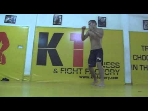fighting technique #6 - How to throw a low kick