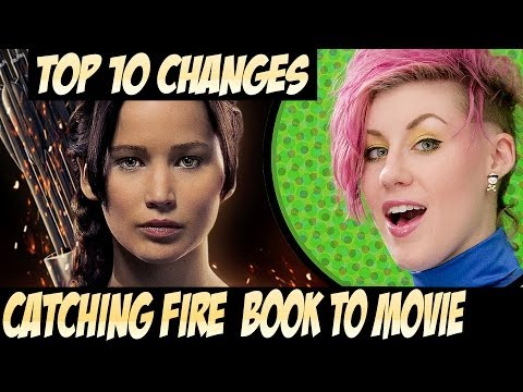 TOP 10 Catching Fire Changes Book to Movie