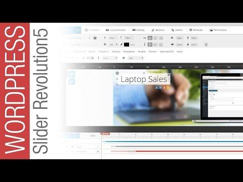 Slider Revolution 5 - Creating a Multi-Image Animated Slider