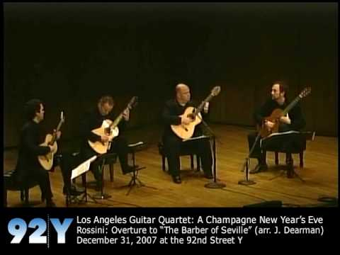 Los Angeles Guitar Quartet at 92nd Street Y