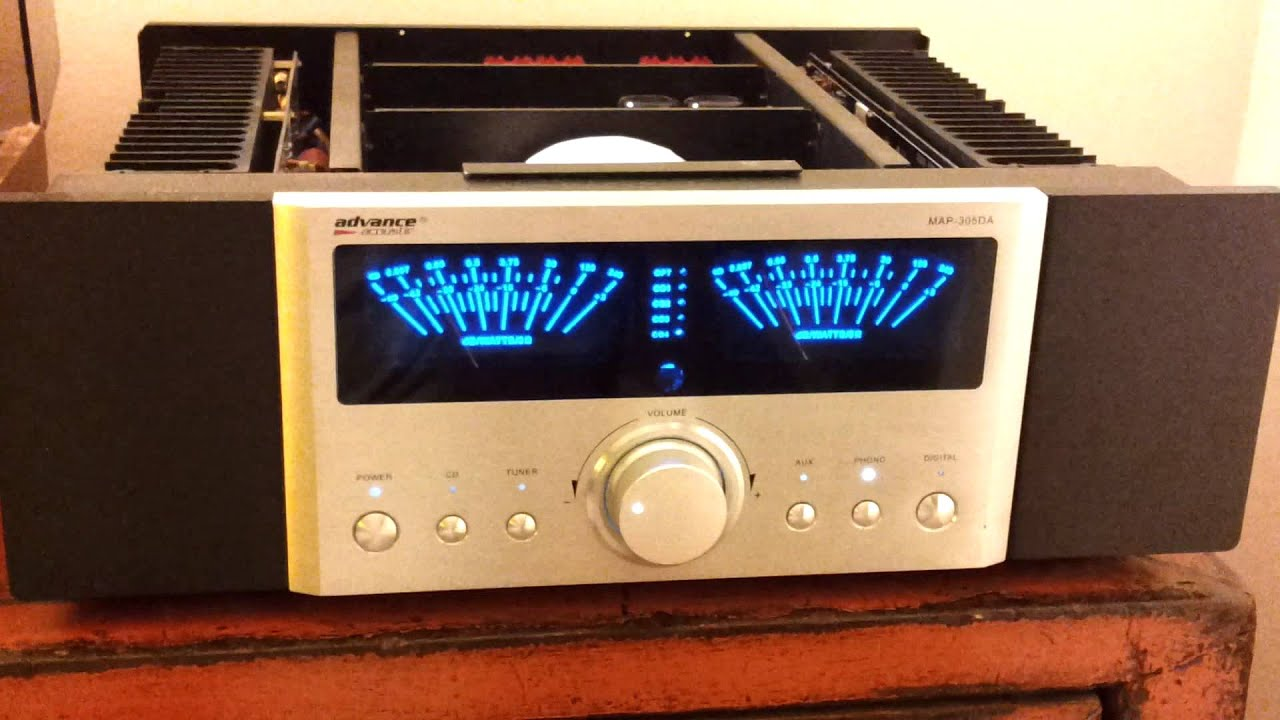 Integrated Amplifier Advance Acoustic Map305da Opened