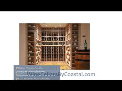 Design & Build Custom Wine Cellars St. Louis Missouri Proj