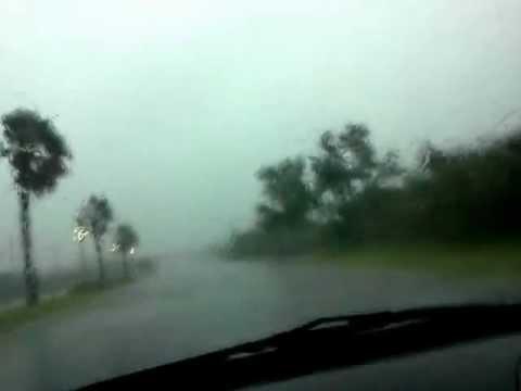 Tropical Storm Isaac, Guayama Puerto Rico (August 24, 2012)