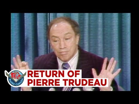 The Return of Pierre Trudeau, quotThis is the single most difficult decision I39ve ever madequot, 1979