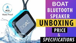 Boat Stone 200 Bluetooth Speaker Review & Unboxing / Boat Stone 200 Speaker Sound Test