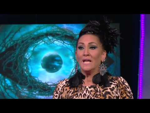 Emma Willis interviews fifth place Michelle Visage