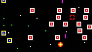 Unfinished space invaders game
