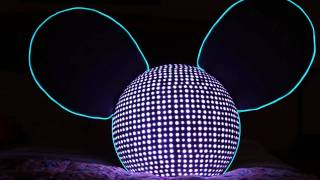 deadmau5 LED head from Comic Con 2011
