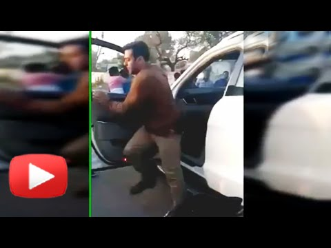 VIDEO! Salman Khan Attacked Fans Who Chased Him! - Watch Now!