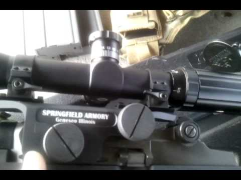 Springfield Armory Scope Mount Armory 4th Gen Scope Mount