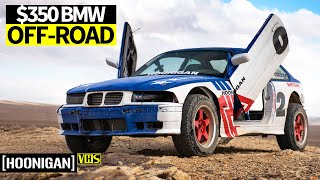 Sh*tcar Goes Safari Spec! Our Infamous SR20 Powered $350 BMW Gets Chopped Up and Off-Road Ready