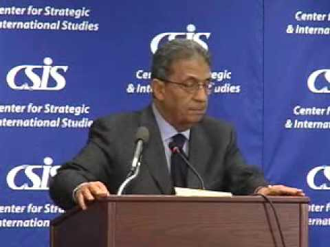 Statesmen's Forum: Amr Moussa, Secretary-General, League of Arab States