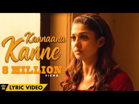 Naanum Rowdy Dhaan - Kannaana Kanne   Lyric Video   Sean Roldan   Anirudh   Vignesh Shivan