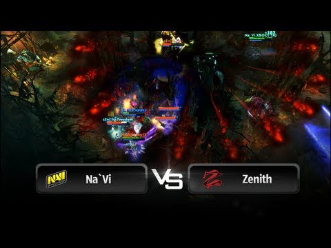 Na`Vi vs Zenith @ The International 3