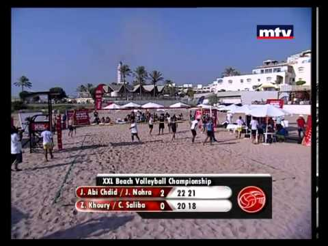 Special Sport - 17/08/2013 - Lebanese Beach Volleyball Championship