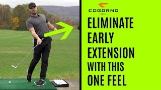 GOLF:  Eliminate Early Extension With This One Feel