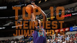 NBA Top 10 Weirdest Jump Shots
