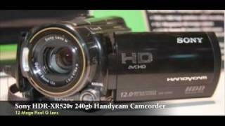 Sony HDR-XR520v 240gb High Definition Handycam Camcorder Review...
