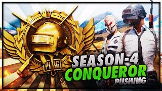 PUBG MOBILE LIVE   SEASON 4 CONQUEROR GAMEPLAY   PUSHING TO TOP 100 PLAYER IN ASIA😍😍  from Kronten Gaming