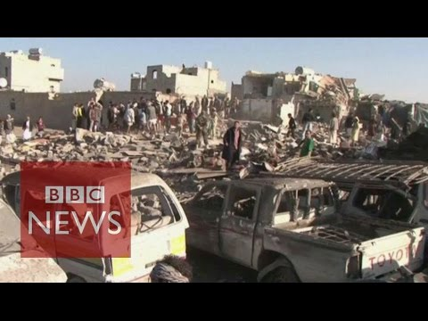 Saudi Arabia launches Yemen strikes - BBC News