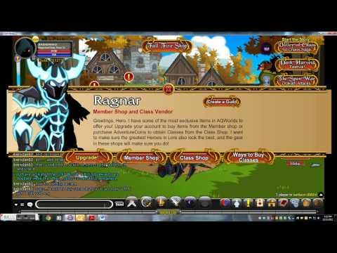 =AQW= Getting Arcane of Nulgath+How to get 1million gold easy(dark mystic style)