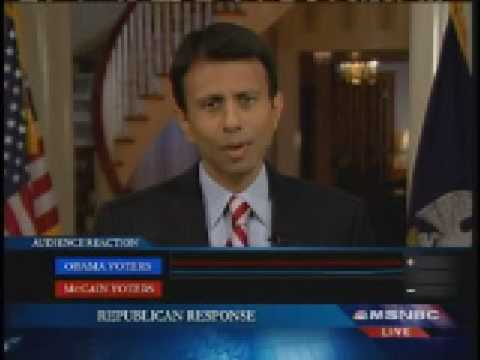 Bobby Jindal: Republican Response Speech Part One