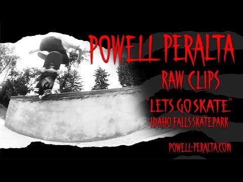 Powell-Peralta 'Raw Clips' - Idaho Falls Skatepark