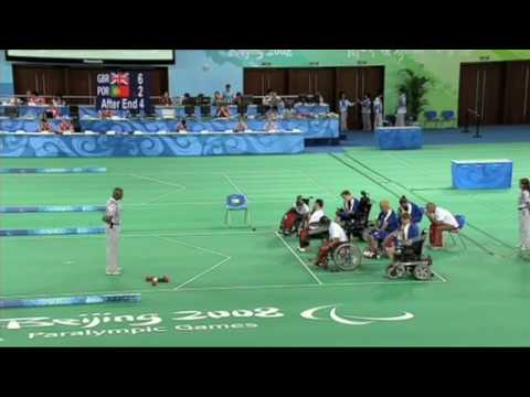 Boccia: a sport unique to the Paralympic Games – London 2012