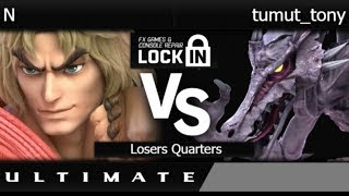 FXL  - N (Ken) vs tumut_tony (Ridley) Losers Quarters - SSBU