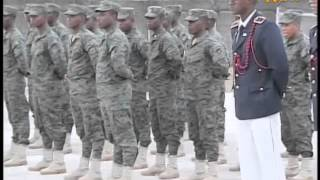 VIDEO - Ceremony to deliver certificates to new Haitian officer graduates