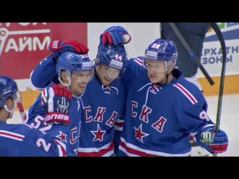 Sochi Hockey Open (06.08.17) «СКА»–«Металлург» Мг, ГОЛЫ...