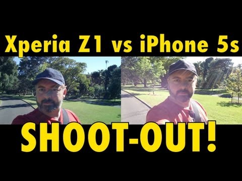 iPhone 5s vs Xperia Z1 - Video SHOOTOUT - Which is Best?