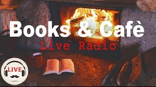 Download Lagu Cozy Jazz & Bossa Nova Music With Fireplace - 24/7 Live Stream - Relaxing Cafe Music Gratis STAFABAND