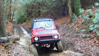 Land Rover discovery Ford mavrick Suzuki sj410 off road greenlaning