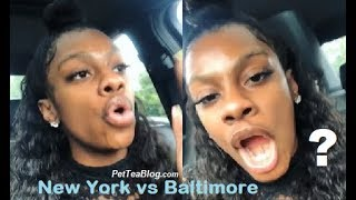 Jess Hilarious Goes Off about New York vs Baltimore Comparisons 👀