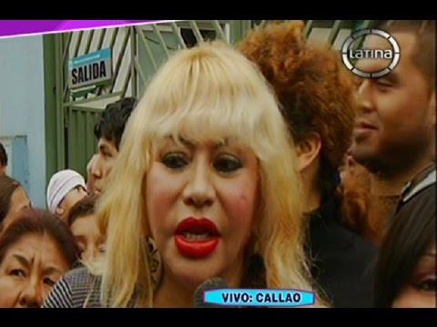 Susy Díaz está asustada y denuncia que casi la secuestran en el Callao