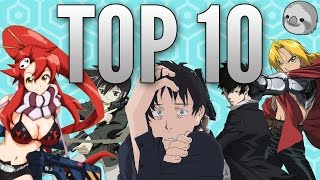My Top 10 Anime Series of All Time