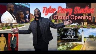 Tyler Perry Studios Tour & Celebration
