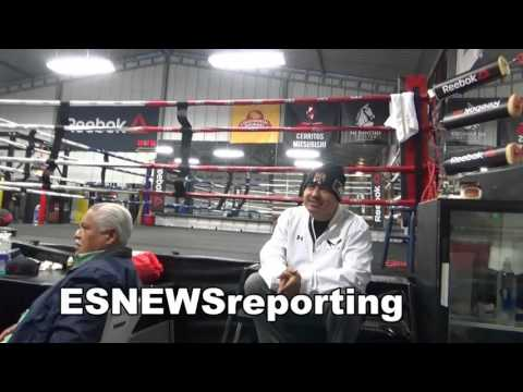 mikey garcia working out in is GREAT shape - EsNews Boxing