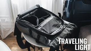 SAVE YOUR BACK! How to Travel Light for Photographers